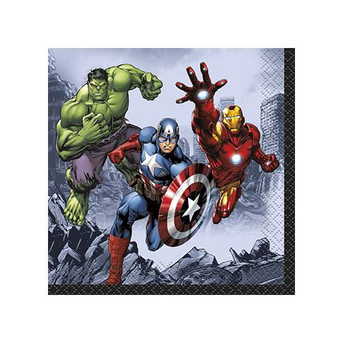 Marvel's Avengers Beverage Napkins [16 Per Pack]