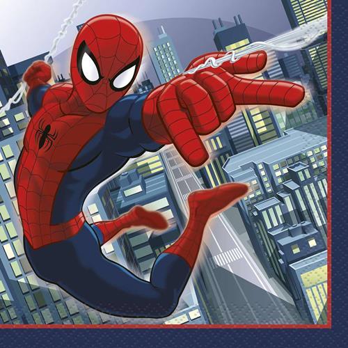 Spider-Man Beverage Napkins [16 Per Pack]