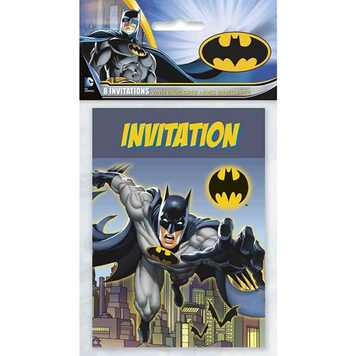 Batman Party Invitations [8 Per pack]
