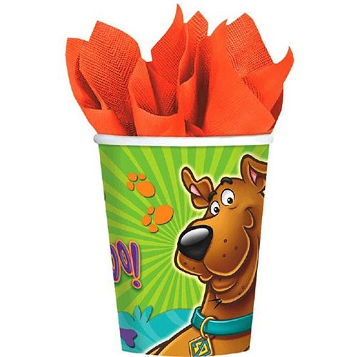 Scooby-Doo 9 oz. Cups [8 Per Pack]