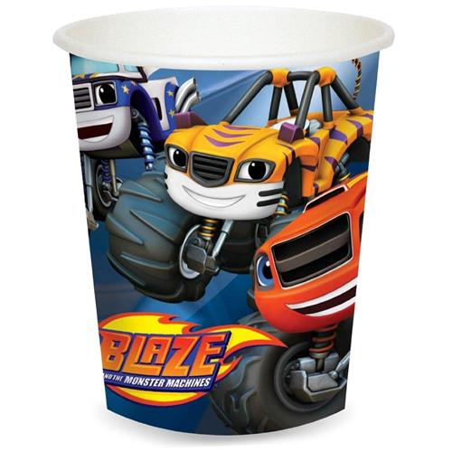 Blaze and the Monster Machines Cups [8 Per Pack]