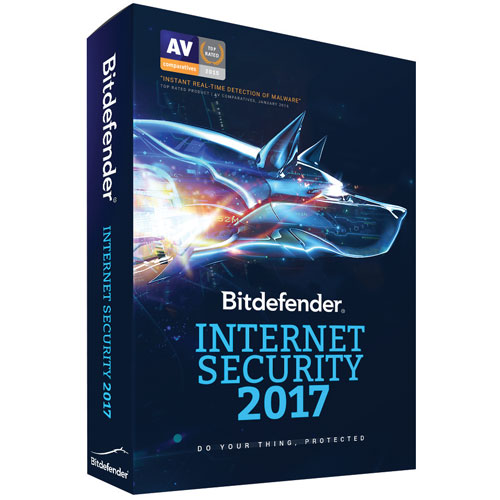 Bitdefender Internet Security 2017 (PC) - 1 Device - 1 Year