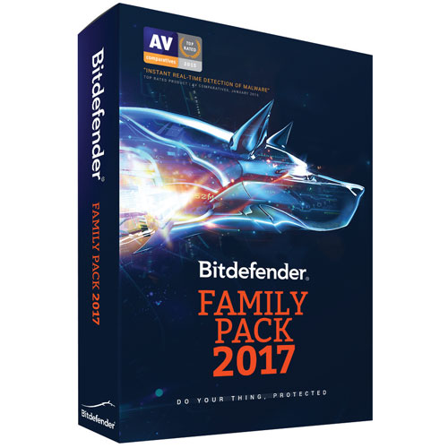 Bitdefender Family Pack 2017 (PC/Mac) - Appareils illimités - 1 an