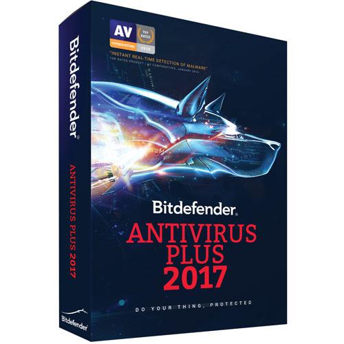 Bitdefender Antivirus Plus 2017 (PC) - 1 Device - 1 Year