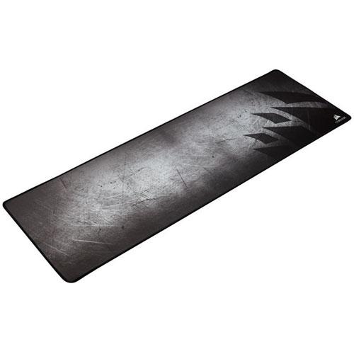 tapis de souris de jeu en tissu anti effilochage mm300 de corsair grand - Tapis De Souris