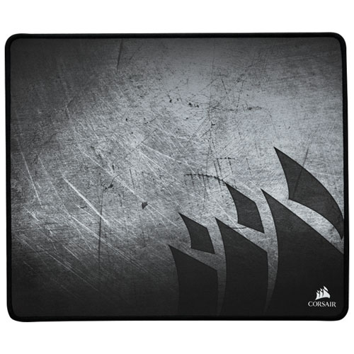 Corsair MM300 Anti-Fray Cloth Gaming Mouse Pad - Medium - Black