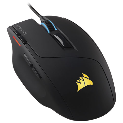 Corsair Sabre RGB 10000DPI Optical Gaming Mouse - Black