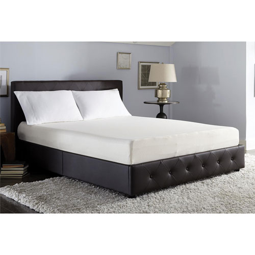 "Signature Sleep Memoir 8"" Adjustable Firm Memory Foam Mattress - Double"
