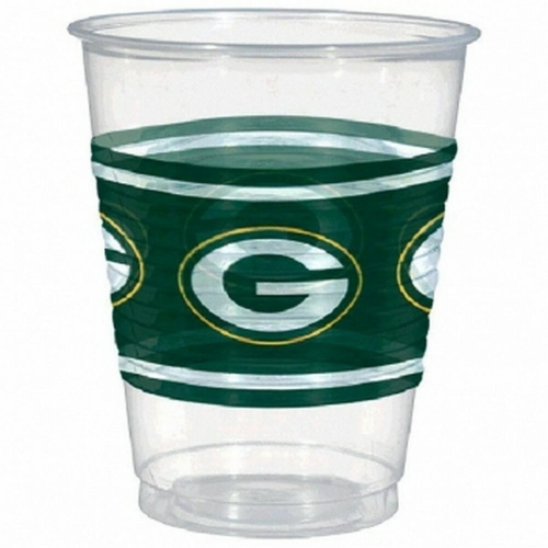 NFL Green Bay Packers Cups, 16 oz. [25 cups]