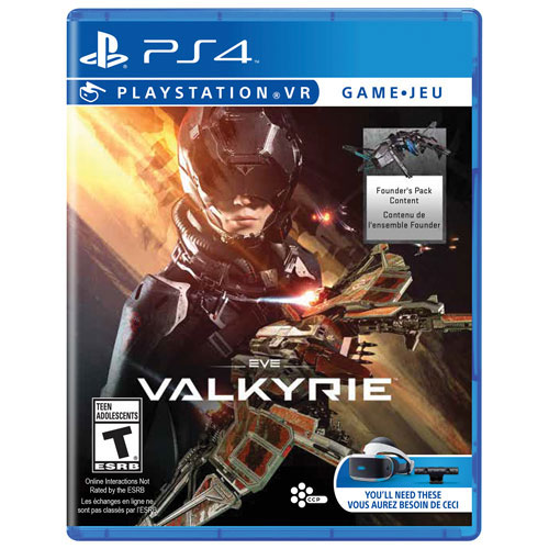 EVE: Valkyrie for PlayStation VR (PS4) - Previously Played