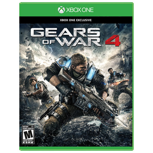 Gears of War 4 (Xbox One) - Previously Played