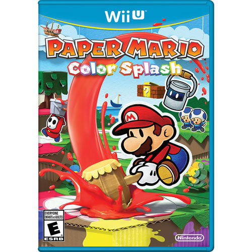 Paper Mario: Color Splash (Wii U) - Previously Played