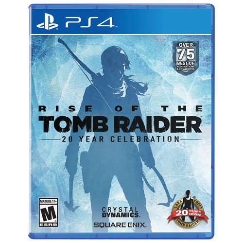 Rise Of The Tomb Raider: 20 Year Celebration (PlayStation 4) - Jeu usagé