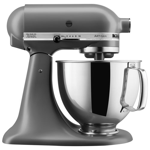 Kitchen Aid Artisan Matte Grey