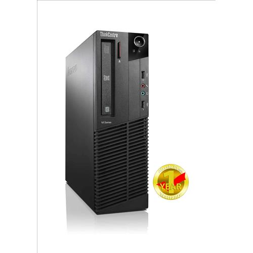 Lenovo M78 SFF, AMD A4-3.4 Ghz, 8GB RAM, 2TB HDD, DVDRW, Win 10 Pro-64 Bit(English/French), 1 Year Warranty - Refurbished