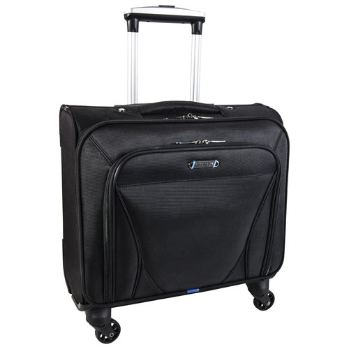 "Nextech Augusta 15.6"" Laptop Rolling Bag - Black"