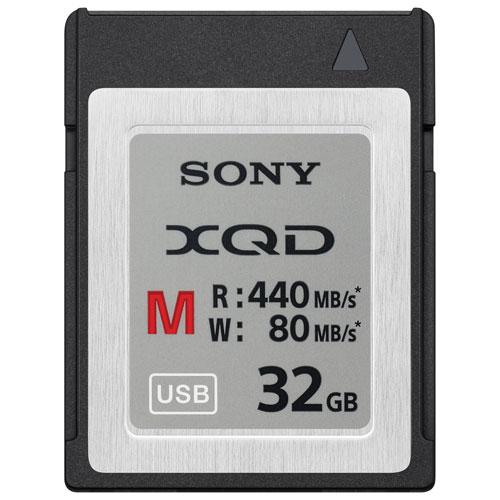 Carte mémoire XQD 440 Mo/s de 32 Go de Sony