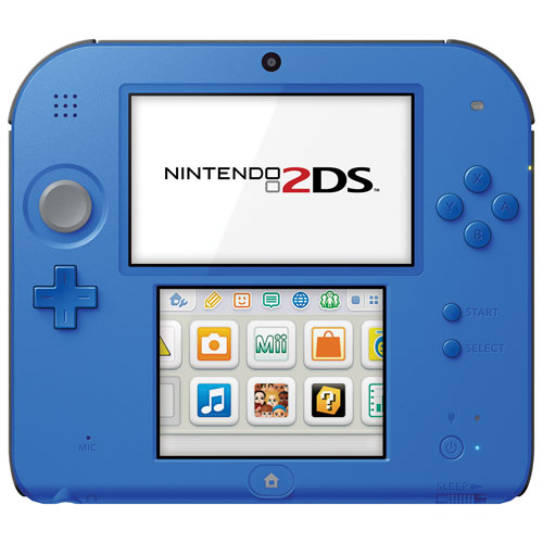 Nintendo 2DS Mario Kart 7 Bundle - Electric Blue