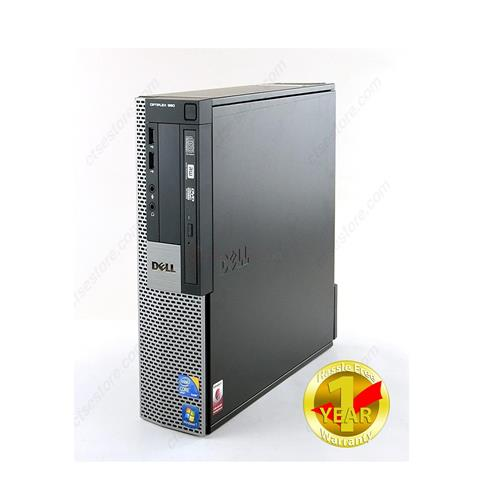 Dell Optiplex 980 SFF, Intel i5-650, 8GB Memory, 2TB HDD, DVDRW, Windows 10 Pro -64bit (French/English),1YW-Refurbished