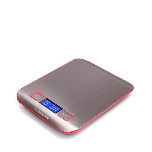 Digital Scale: GROSCHE Aprilia - Red, 11lb capacity