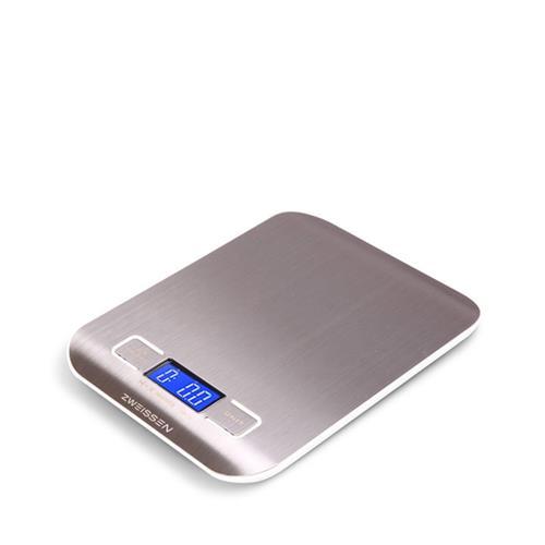Digital Scale: GROSCHE Aprilia - White, 11lb capacity