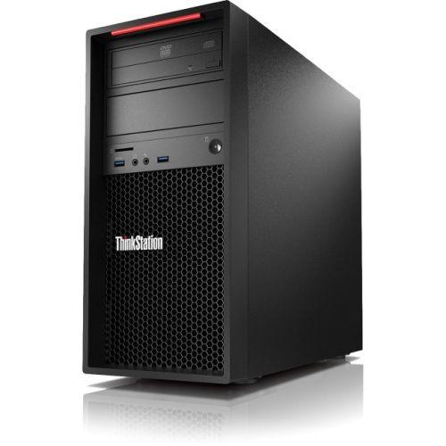 Lenovo ThinkStation P410 30B3001QCA Workstation - 1 x Intel Xeon E5-1607 v4 Quad-core (4 Core) 3.10 GHz - Graphite Black