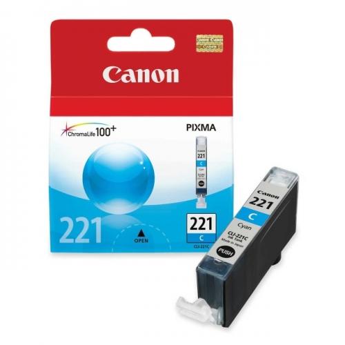 Canon CLI-221C Cyan Ink Cartridge