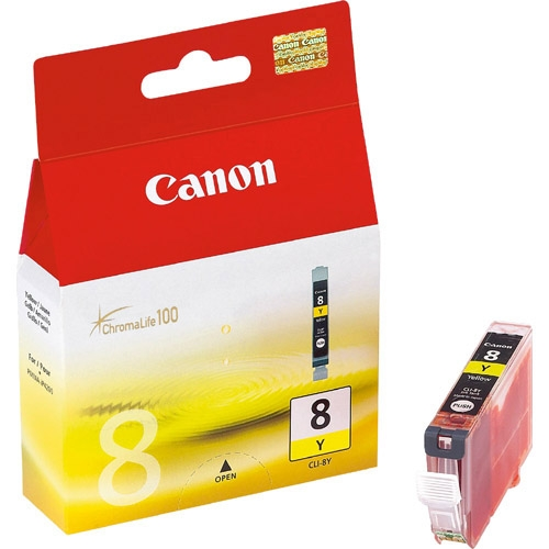 Canon CLI-8Y Ink Cartridge - Yellow