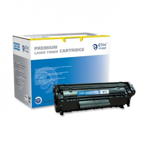 Elite Image Remanufactured Toner Cartridge Alternative For HP 12A (Q2612A)