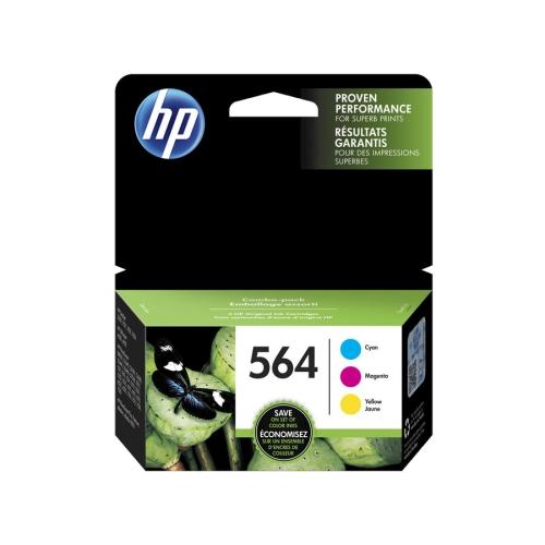 HP 564 Ink Cartridge - Cyan, Yellow, Magenta
