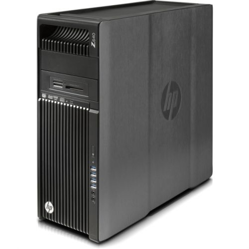 HP Z640 Convertible Mini-tower Workstation - Intel Xeon E5-1620 v4 Quad-core (4 Core) 3.50 GHz - Brushed Aluminum, Black