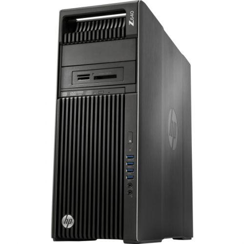 HP Z640 Convertible Mini-tower Workstation - 1 x Intel Xeon E5-1630 v4 Quad-core (4 Core) 3.70 GHz - Brushed Aluminum, Black