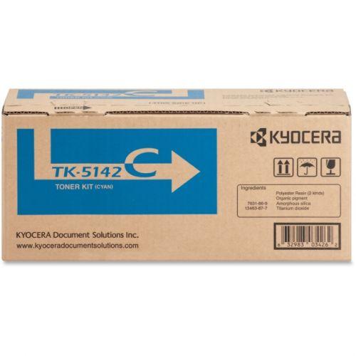 Kyocera TK-5142C Toner Cartridge - Cyan