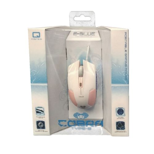 Cobra-S EMS128 Optical Gaming Mouse, Pink