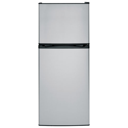 "Moffat 24"" 11.55 Cu. Ft. Top Freezer Refrigerator (MPE12FSKLSB) - Stainless Steel"