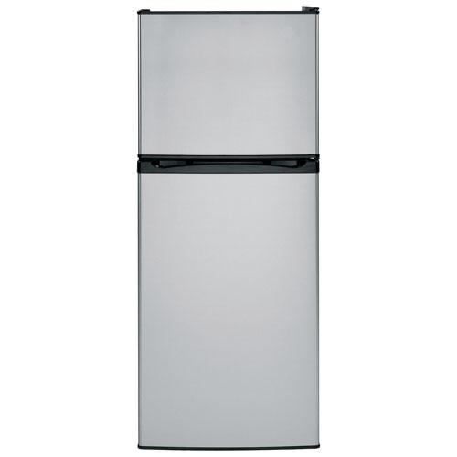 "Moffat 24"" 11.55 Cu. Ft. Top Freezer Refrigerator (MPE12FSKSB) - Stainless Steel"