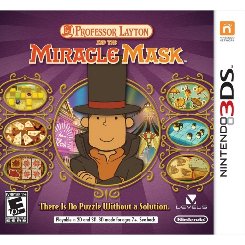 Professor Layton and the Miracle Mask - 3DS