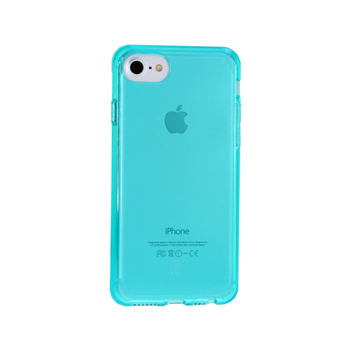 Caseco iPhone 6/6S Clear Slim transparent Case - Teal
