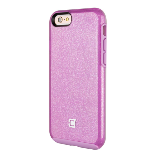 Caseco iPhone 6/6S Dual-Layered Flux Glitter Case - Purple/Purple