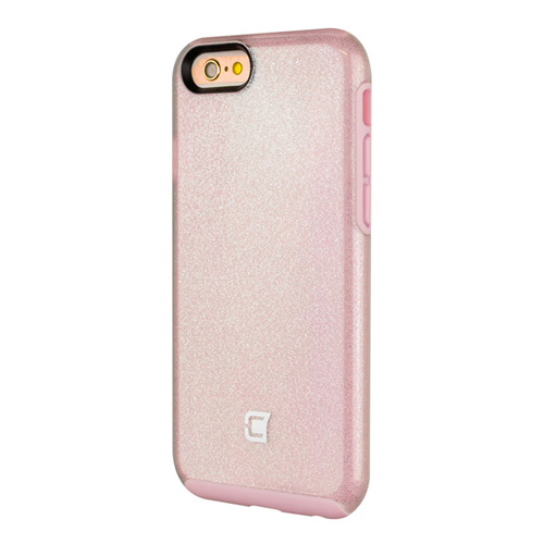 Caseco iPhone 6/6S Dual-Layered Flux Glitter Case - Pink/Pink