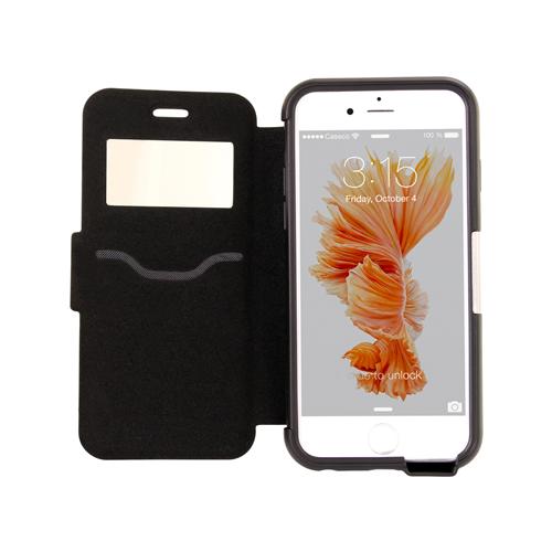 Caseco iPhone 6/6S Testa Wallet Folio Case - Black