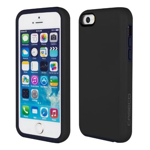 Caseco iPhone SE/5S/5C Flux Hybrid Custom Case - Black/Navy