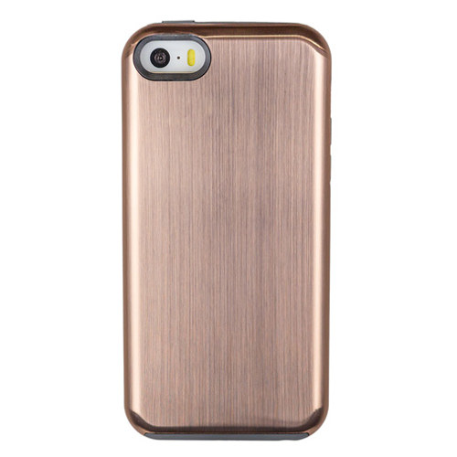 Caseco Products Fitted Hard Shell Case for Iphone SE   Iphone 5S   Iphone  5C - Metallic Gold   iPhone 5s 72787b53f185