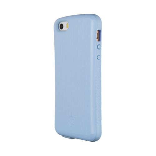 Caseco iPhone SE/5S Shock Express Metallic Case - Aquamarine