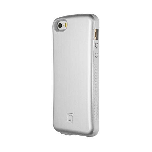 Caseco iPhone SE/5S Shock Express Metallic Case - Silver