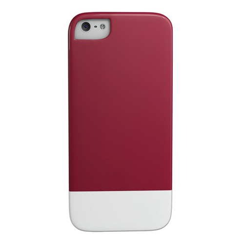 Caseco iPhone SE/5S Lynx Premium Slider Case - Red