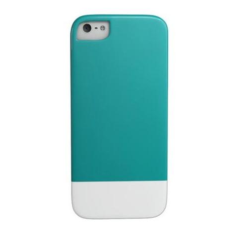 Caseco iPhone SE/5S Lynx Premium Slider Case - Turquoise