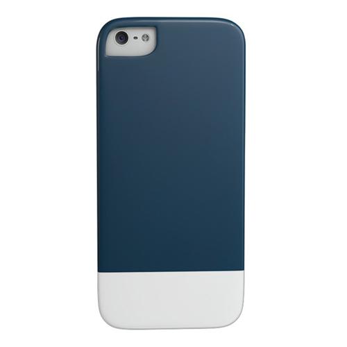 Caseco iPhone SE/5S Lynx Premium Slider Case - Navy