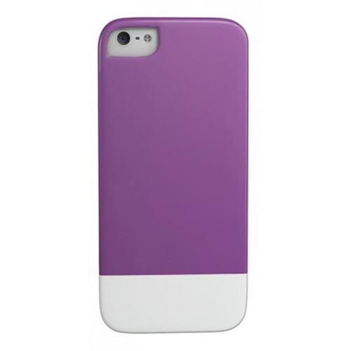Caseco iPhone SE/5S Lynx Premium Slider Case - Purple