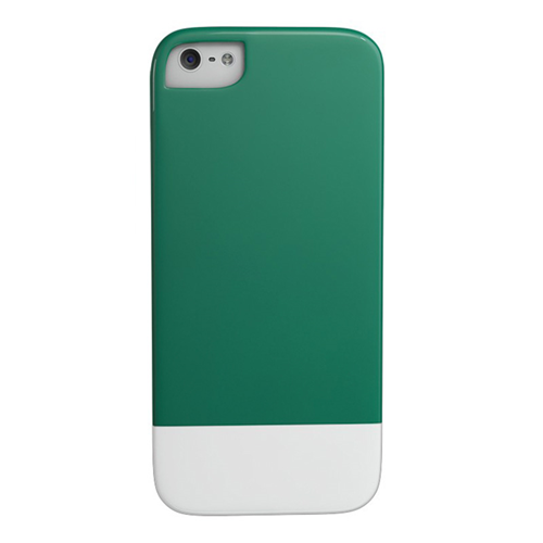 Caseco iPhone SE/5S Lynx Premium Slider Case - Green